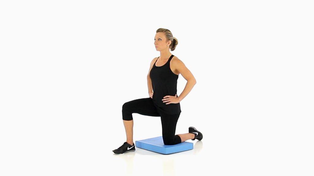 کشش عضلات خم کننده زانو