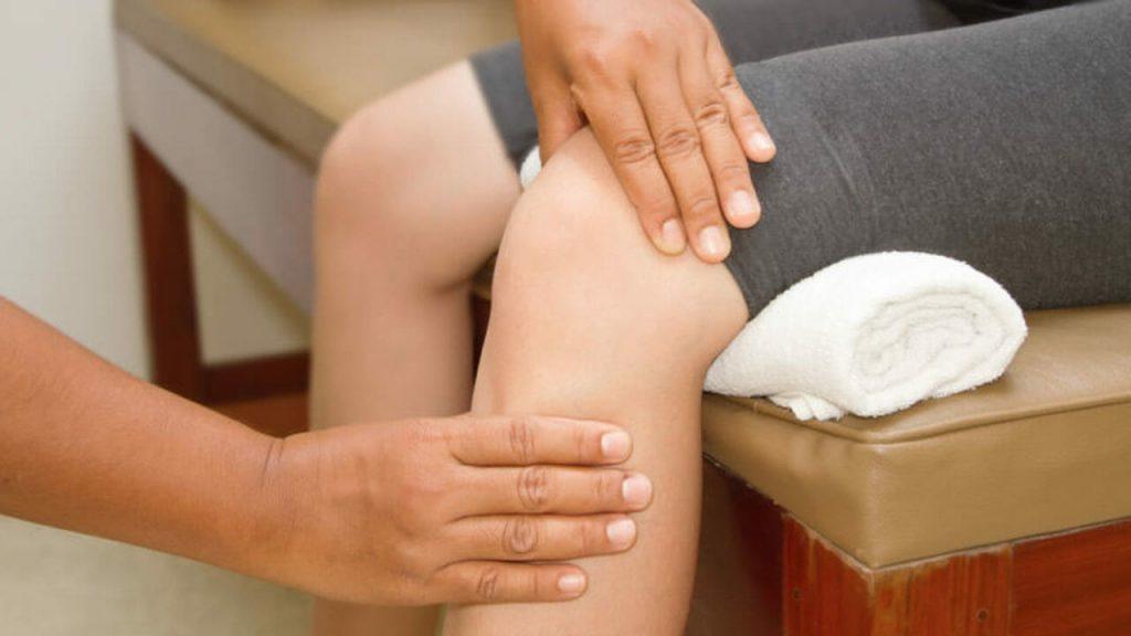 درمان کشکک زانو